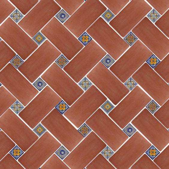 Mexican Tile Floor And Decor Ideas For Your Spanish Style Home - DIY Ideas