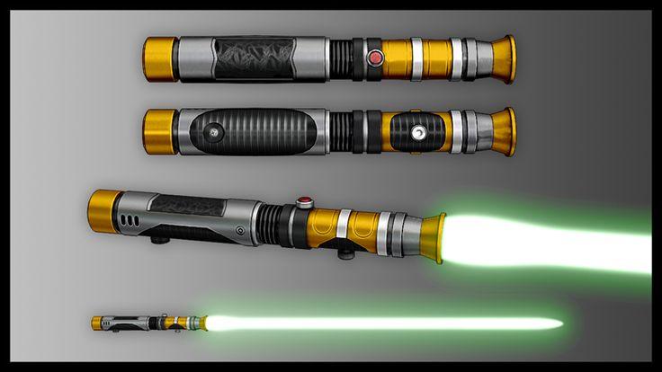 Build My Own Lightsaber Online