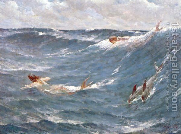 Mermaids 1889 by George Willoughby Maynard