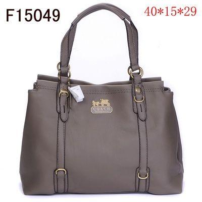 US1360 Coach Handbags Classic Style F15049 - Gray 1360
