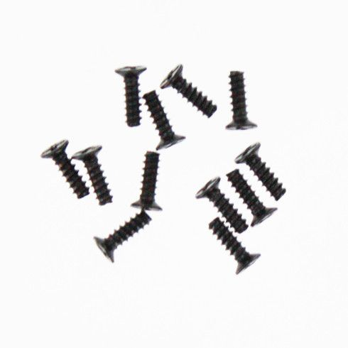 Countersunk self taping screw 2.6*8 12pcs