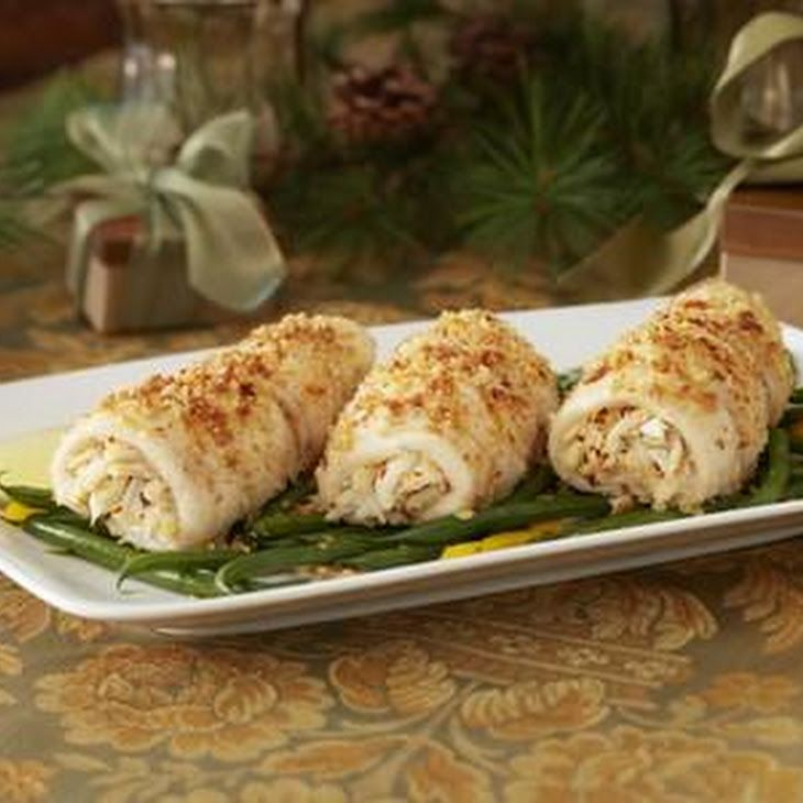 Crab stuffed flounder roll ups recipe main dishes with for Crab stuffed fish