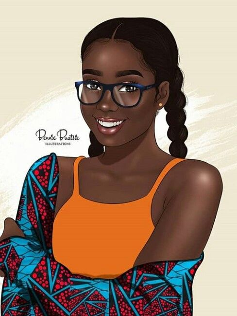 Follow allshewore on pinterest black art in 2019 black - Female cartoon characters wallpapers ...
