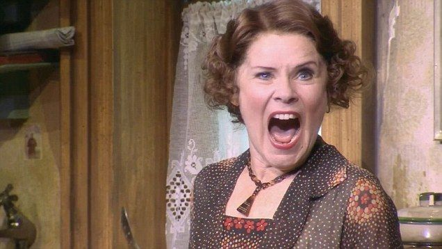 Imelda Staunton's emotional performance in GYPSY stage show at The Savoy Theatre in London.