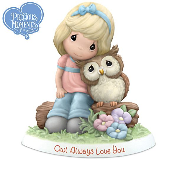Precious Moments Owl Always Love You Figurine Collection