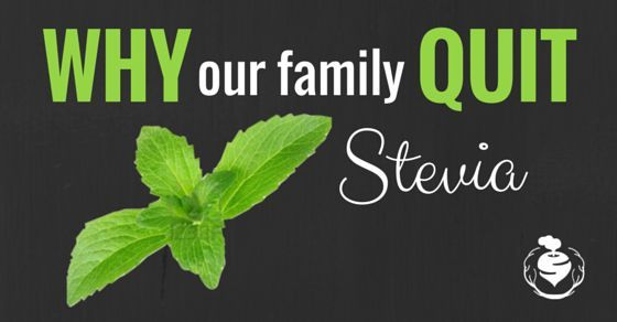 Do you know the side effects of stevia?
