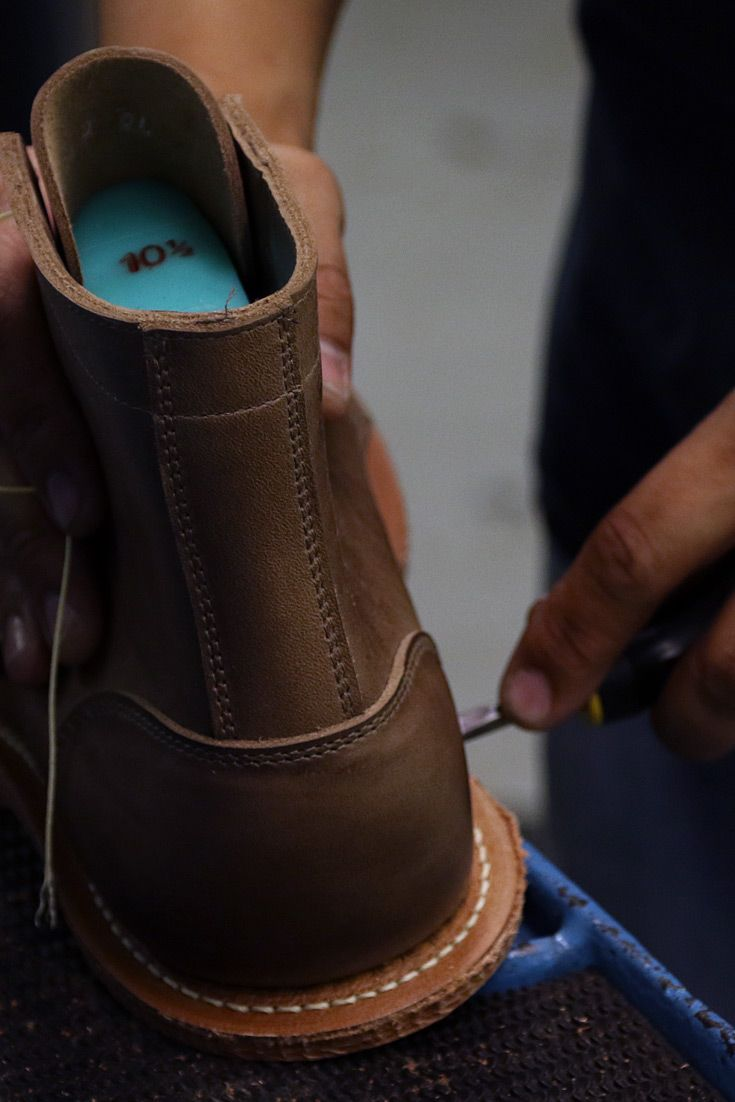 Factory Visit to Oak Street Bootmakers