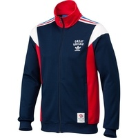 adidas Team GB Track Top  £65.00    adidas Shop    Styled just right for fans of Team GB, this men's adidas Team GB Track Top shows off your national pride during the 2012 Olympics in London.