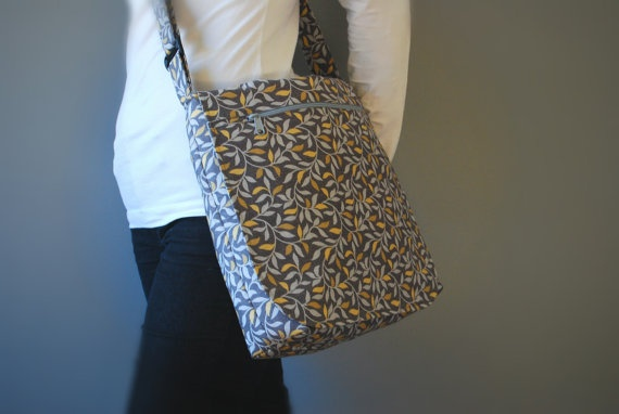 Original Messenger Bag with Adjustable Strap by PecanTreeCreations, $80.00