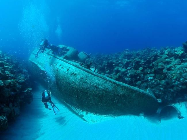 Bermuda Dive Association--The shipwreck capital of the world
