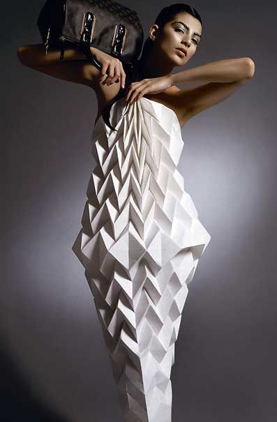 images of oragami clothes | Origami Clothes