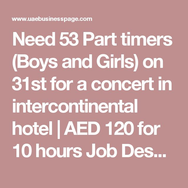 Best Jobs In Dubai Images On   Dubai Job