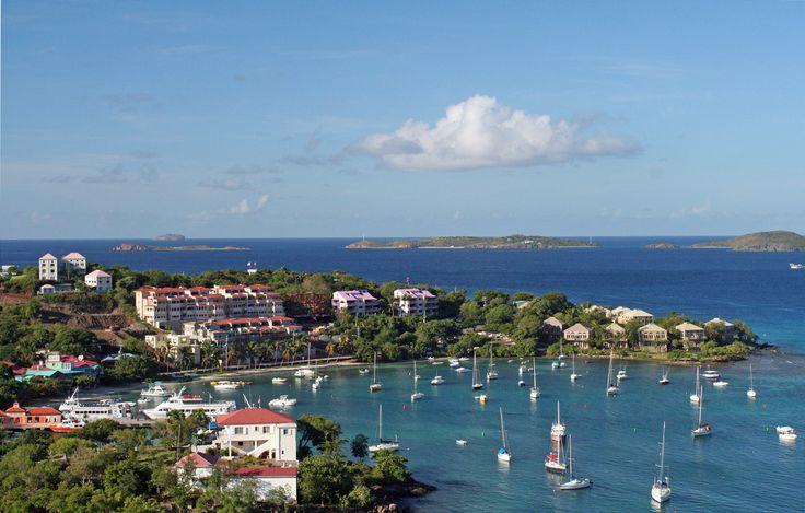 The USA, Caribbean Style: USVI The Caribbean has long been
