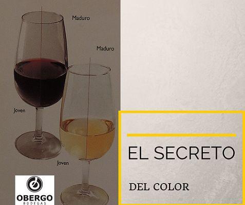 I (Intensidad del color) del #vino: vino joven y con #crianza, tintos y blancos.
