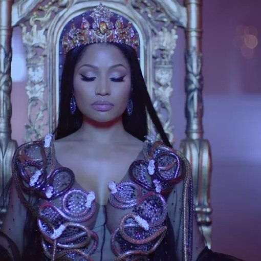 I'm watching No Frauds by Nicki Minaj & Drake & Lil Wayne