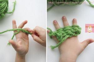 Вязание на пальцах для детей | Baby journal