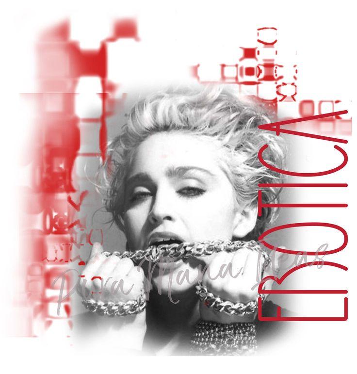 "Diseño ""Madonna, Erótica"" diseño exclusivo de Pura Maña Ideas"