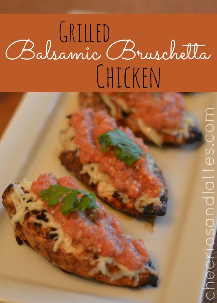... Bruschetta Chicken #grillingrecipes #bruschetta #chickenrecipes