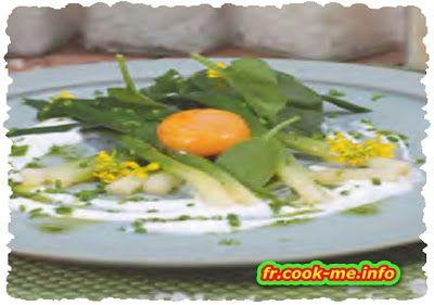 Recette traditionnelle Française: Jaune d'ceuf mariné au vinaigre de cidre et à la f...