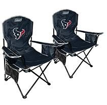 NFL Houston Texans Cooler Quad Chair 2 pack