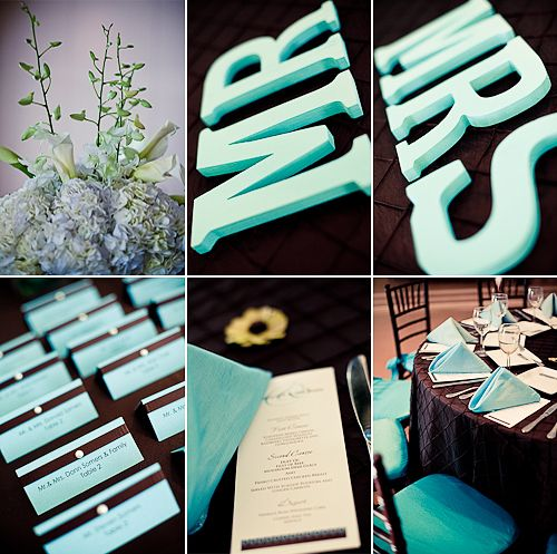 green brown and blue color scheme for weddings - Google Search