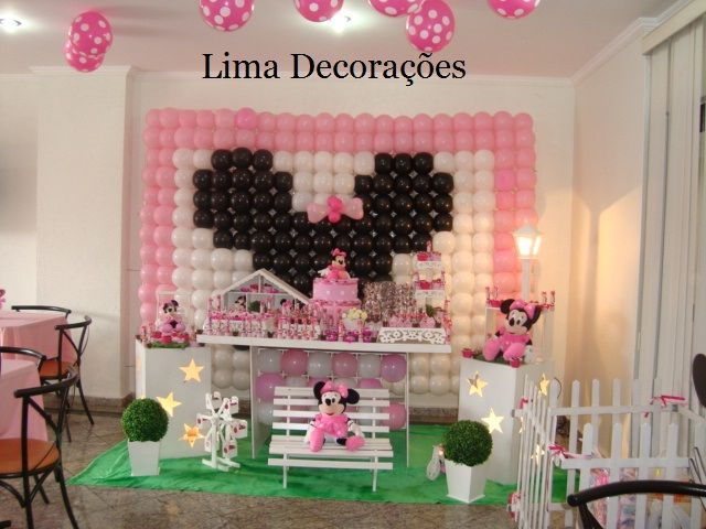 decoracao festa minnie rosa:Decoracao Provencal Da Minnie Rosa