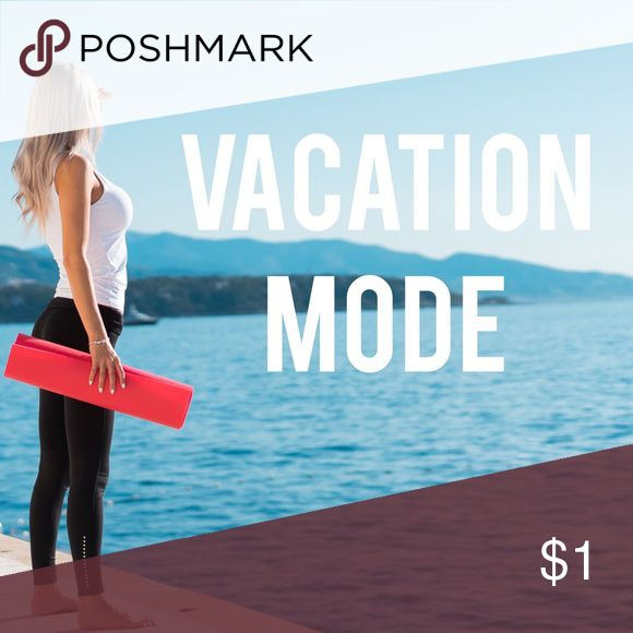 🛍🛍🛍 VACATION MODE TILL APRIL 30 Hey everyone!  Any new items that I have posted will go out after April 30th:  I am on vacation but you can still buy my previous items. I have my sister helping me fulfill orders. 🛍🛍🛍 Accessories