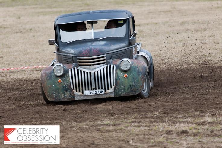 Miskonduct in the mud!  © John Turton @ Celebrity Obsession