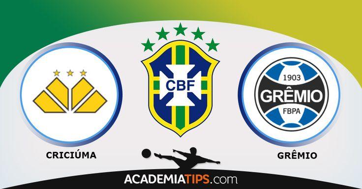 Criciúma x Grêmio: O Criciúma irá receber o Grêmio, num jogo que abre a 34ª rodada do Brasileirão 2014. Do lado caseiro, o Criciúma vem de uma derrota fora...(ANALISE DESTE E OUTROS JOGOS CLICA NO LINK ABAIXO)  http://academiadetips.com/equipa/criciuma-x-gremio-brasileirao-2014/