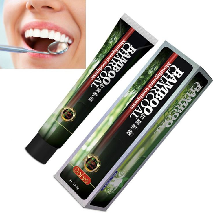 New Teeth Beauty Bamboo Toothpaste Charcoal All-purpose Teeth Whitening The Black Toothpaste Hot Sale