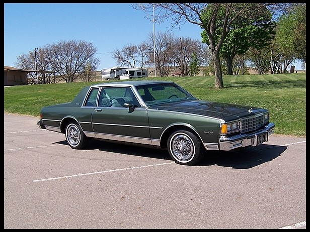 1985 Chevrolet Caprice (Box Chevy), I want one, what more can I say.