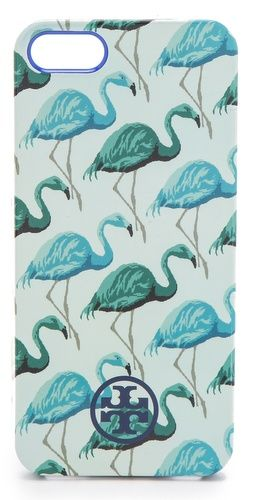Tory Burch Flamingo Softshell iPhone 5 Case | SHOPBOP