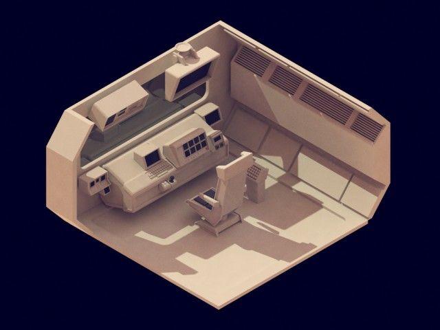 30 isometric renders in 30 days-8