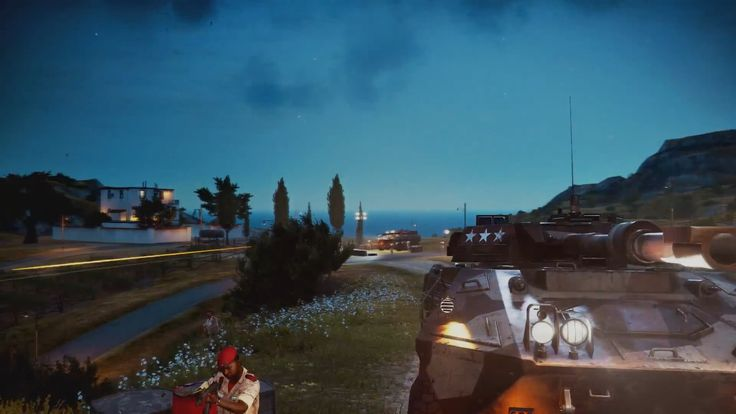 """Titled """"On a Mission"""", this new trailer for Just Cause 3 depicts Rico's antics as he rises up against the forces of General Di Ravello in Avalanche Studios' third-person action-adventure."""