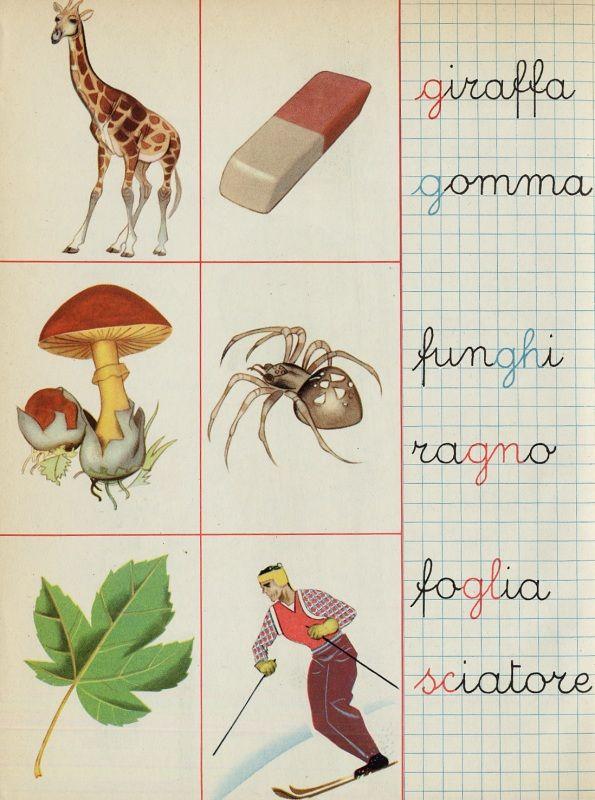 "1960 - libro 1 elementare ""Aurora"""