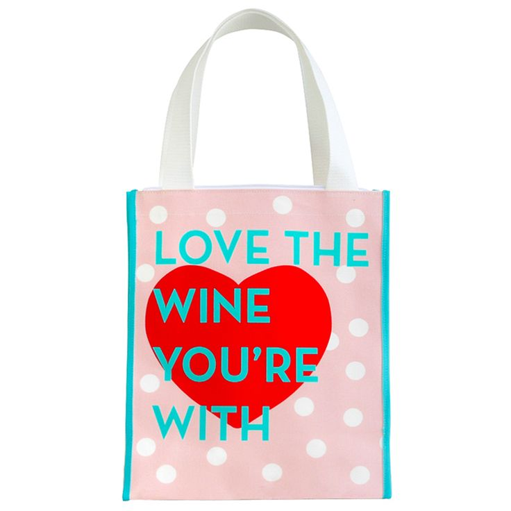 Best Friend Gift - this one is perfect especially if she/he likes a wine or a beer ! The bag for the party goer or stressed out Mum ! Love the Wine You're With !
