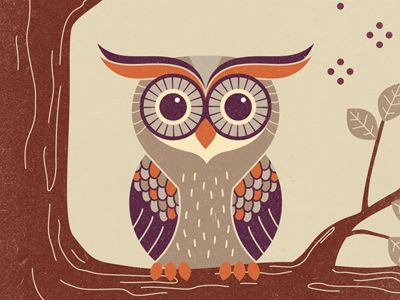 Owl iphone ipod case by nayla smith
