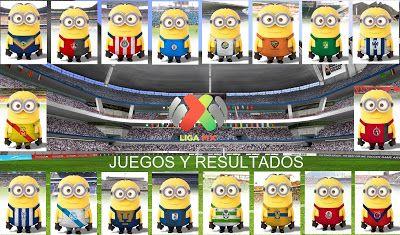 Blog de palma2mex : Liga MX  Jornada 13  Juegos y Resultados