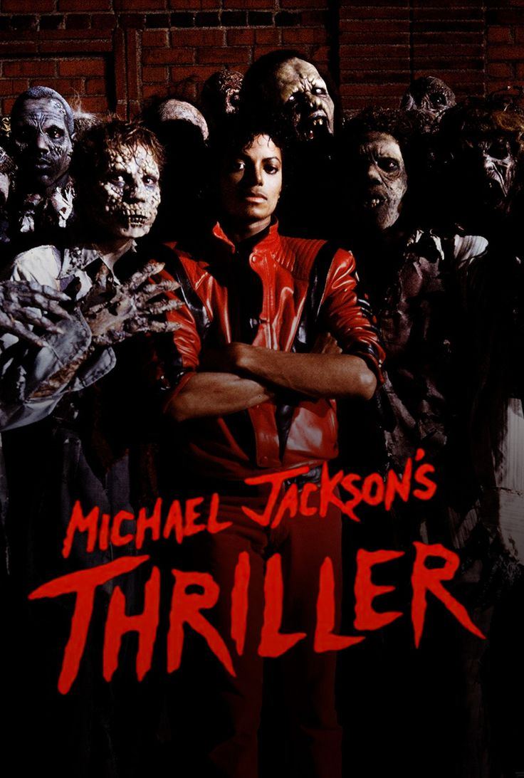 Michael Jackson's Thriller Mini Print in 2019