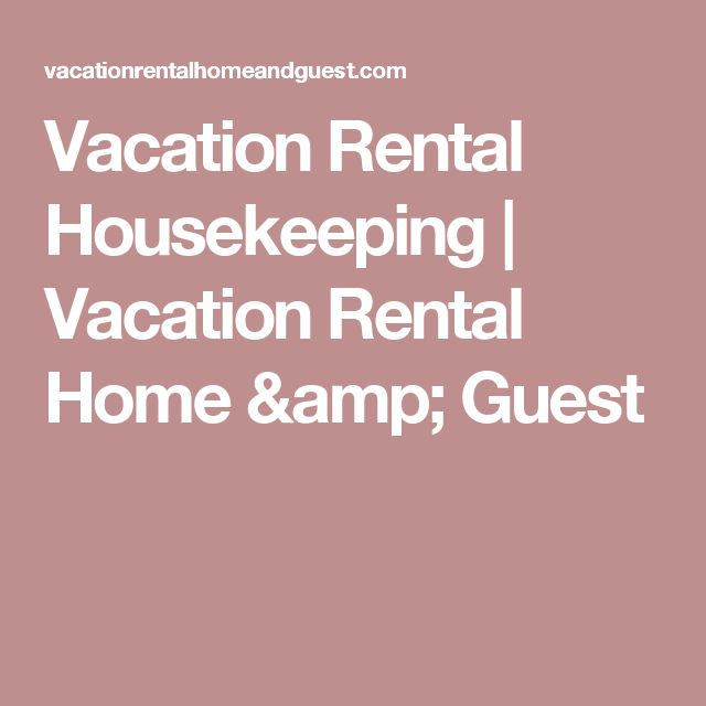 Vacation Rental  Rental Agreement  Vacation Rental