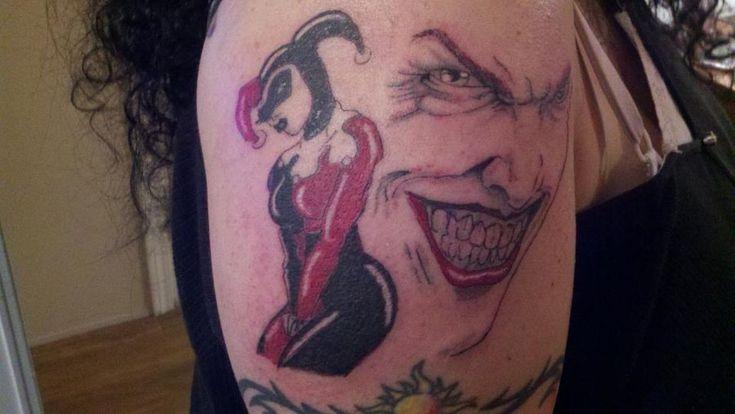 22 best the joker arm tattoo images on pinterest joker tattoos arm band tattoo and arm tattoo. Black Bedroom Furniture Sets. Home Design Ideas