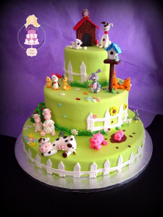 Torta fattoria - Cake by BeSweet