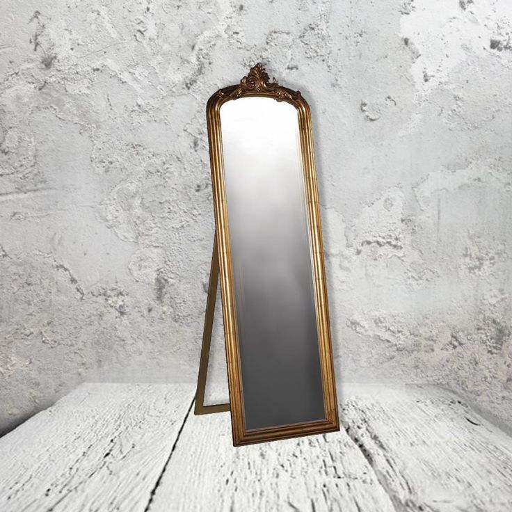 30 best mirrors images on pinterest for Gold frame floor mirror