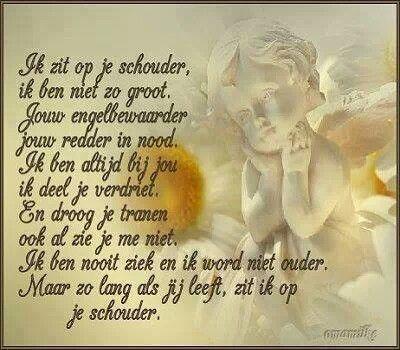 """Engeltje""""s gedichtje"""