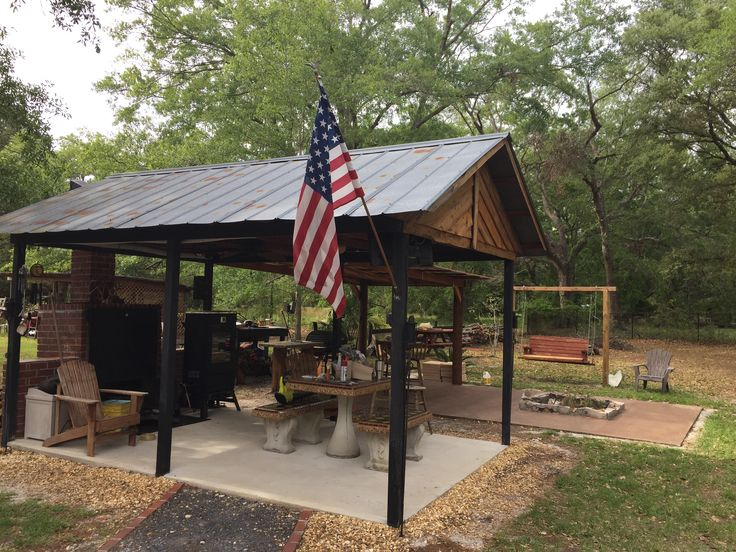 Country cook shack  Outdoor BBQ shack in 2019  Outdoor cooking Bbq shed Outdoor pavilion