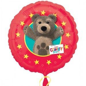 Foliowy balon z motywem Mały Miś Kuba na urodziny dziecka.