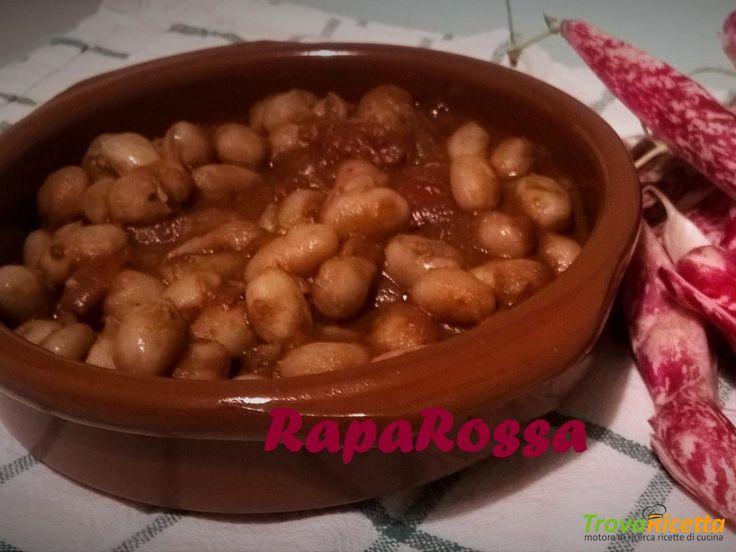 Zuppa di fagioli borlotti  #ricette #food #recipes