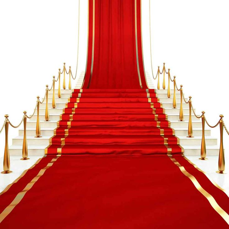 Red Carpet Backdrops Backdrop For Party Pillars Background J01661-E