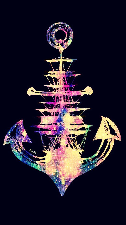 Galaxy Anchor Wallpaper
