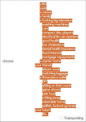Choose Trainspotting